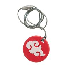 Itzy Ritzy Teething Happens Pendant Necklace- Coral Cloud