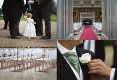 highclere castle downton abbey wedding i love the way their ties are tied