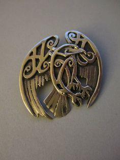 Master Ark's Eagle brooch  www.MasterArk.com