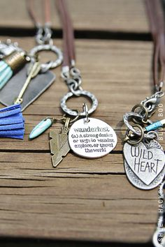 MichaelsMakers Lil Blue Boo creates DIY outdoor themed necklaces  handmade locally!