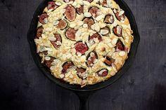 Fresh Fig and Almond Breakfast Cake Recipe; joythebaker