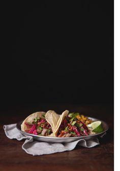 Crispy Pickled Pork Tacos by Tim Robison via Nectar and Light