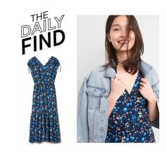 """""""Daily Find: Gap Dress"""" by polyvore-editorial ❤ liked on Polyvore featuring DailyFind"""