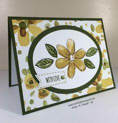 Karen's Stampin' Habit!: English Garden Blooms