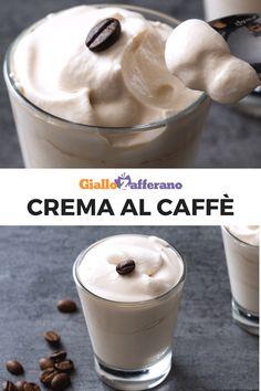 La crema al caffè è un dolce fresco e cremoso da gustare d'estate al posto del caffè. Semplice e pronta in pochissimo, servilo anche come merenda! #dolce #sweet #coffee #icedcoffee #caffe #dessert #summer #ricetta  [Easy coffee cream recipe] Frappe, Biscotti, Estate, Gelato, Oreo, Mousse, Yogurt, Food And Drink, Pudding