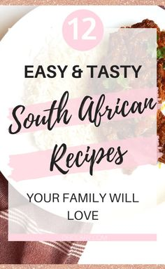 12 South African Dinner Recipes - Best Traditional South African Food Dishes To Try - Clary South African Dishes, South African Recipes, Indian Food Recipes, Low Carb Dinner Recipes, Oven Recipes, Keto Dinner, Easy Recipes, Mutton Curry Recipe