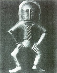 Ancient Astronaut Idol - Kiev, 4000 BC