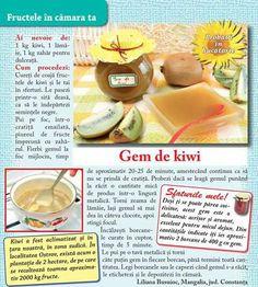 Gem de kiwi Kiwi, Jelly, Gem, Tacos, Mexican, Ethnic Recipes, Food, Canning, Essen