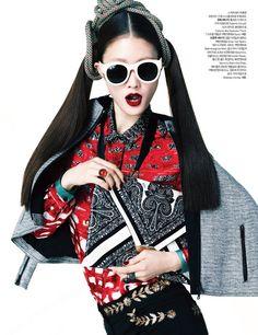 Hyun Yi Lee Vogue Korea March2012