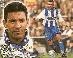 Djalminha, Deportivo A Coruña Good Soccer Players, Football Players, Premier League, Sporting, World Of Sports, Football Soccer, Worlds Of Fun, Messi, Cheerleading