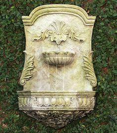 Outdoor Wall Fountains, Garden Fountains, Garden Statues, Water Fountains, Garden Ponds, Koi Ponds, Dragon Garden, Tiered Garden, Patio Wall