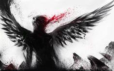 Anime Fallen Angel Wallpaper Hd Widescreen 11