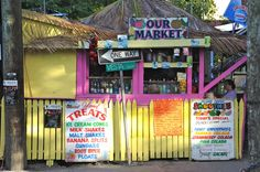 Our Market; Cruz Bay, St. John, U.S. Virgin Islands.  January 2011. Island Market
