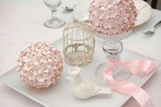 DIY Pomander Ball Wedding Centerpieces