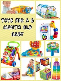 Best toys, 6 month olds and 6 months on Pinterest