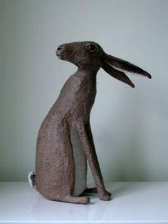 paper mache sculptures Nicky Clacy