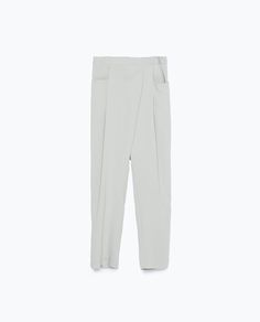 CREPE DRAPEY TROUSERS