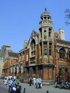 university; St John's College: St John's Street: Faculty of Divinity (Basil Champneys)