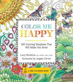 $17 Color Me Happy - Colouring for Mindfullness