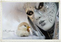 Carnevale di Venezia-fiocco di neve - foto di Roberto Fusconi