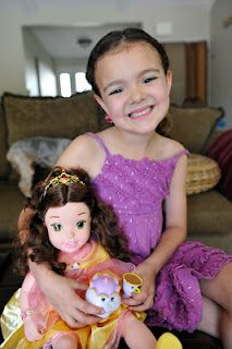 Win a Signing and Storytelling Princess Belle doll for your little princess at Babes In Disneyland.