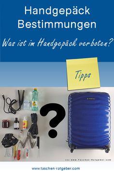 Was ist im Handgepäck alles verboten? Blog, Dime Bags, Tips, Blogging