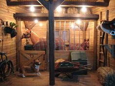 Breyer Horse Barn Tours | Breyer Barn.    I have this set, just found it.