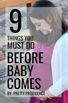 9 MUST DO items before baby comes! These will save your butt and you will be so glad you read this article!, whether or not you're a first time mom! #celebratefamilyvalues #spon