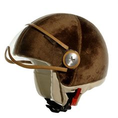 Velvet Fashion Helmet