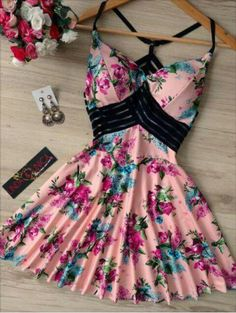 Qué hermoso Cute Casual Outfits, Pretty Outfits, Pretty Dresses, Beautiful Dresses, Casual Dresses, Short Dresses, Summer Dresses, Teen Fashion Outfits, Fashion Dresses