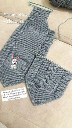 Baby Cardigan Knitting Pattern Free, Baby Sweater Patterns, Baby Knitting Patterns, Baby Patterns, Hand Knitting, Sewing Patterns, Knitted Slippers, Knit Fashion, Baby Sweaters