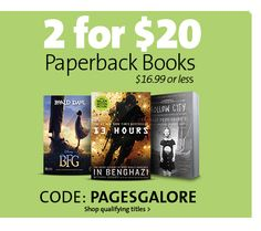 2 FOR $20 PAPERBACKS | CODE: PAGESGALORE Bfg, Business Sales, Going Out Of Business, Roald Dahl, Paperback Books, Discover Yourself, Coding, Entertaining, Funny
