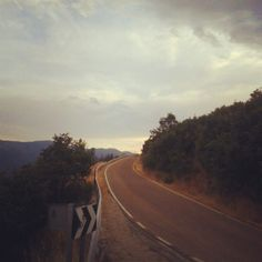 #spain #vacations #mountains #road #tothetop