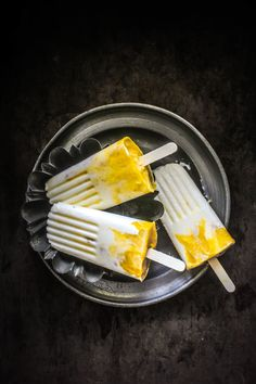 Mango Lassi Popsicles - cooking and recipes