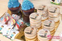 Yoyo e chupa-chupa para Lembranças de Aniversário Desserts, Food, Tailgate Desserts, Deserts, Eten, Postres, Dessert, Meals, Plated Desserts