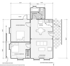 Layout of the dunphy house
