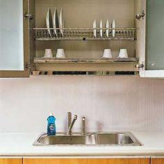 Drying Dishes Dilemma: Wall Rack?   Making Macy