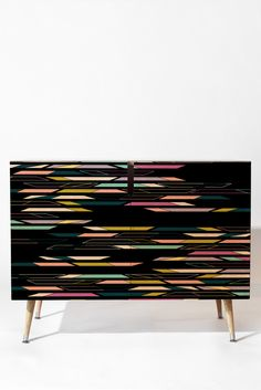 Khristian A Howell Studio 54 In Black Credenza | DENY Designs Home Accessories