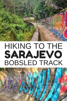Sarajevo, Bosnia - If you want to see how to easily explore an abandoned Olympic site, you can click through for the hiking instructions.