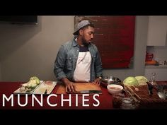 How to make Egg Rolls with Chef E-Dubble - YouTube