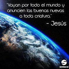 La misión que a todos nos corresponde.Todo aquel que crea en Jesucristo se salvara