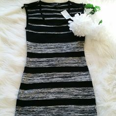 """SALE Forever 21 Black and Grey Dress Brand New F21 Black and Grey Dress 33"""" in Length Forever 21 Dresses"""