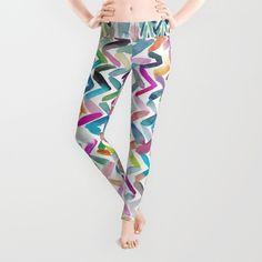 Color Waves Leggings