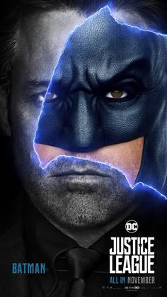 Justice League Movie Poster 2017 Featuring Ben Affleck as Bruce Wayne aka Batman in Upcoming Movie - DigitalEntertainmentReview.com