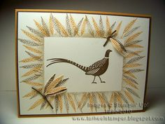 Pheasant Walking by Taminnc - Cards and Paper Crafts at Splitcoaststampers