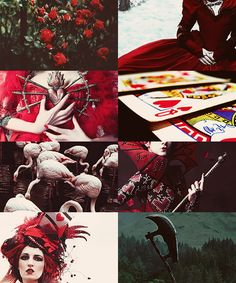 QUEEN OF HEARTS | fairy tale series: Excuse me but I think you're crazy--Not like crazy 'ha-ha' I mean, crazy, crazy, insane