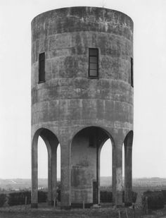Bernd and Hilla Becher, Water Tower Diepholz, Westphalen, 1979.