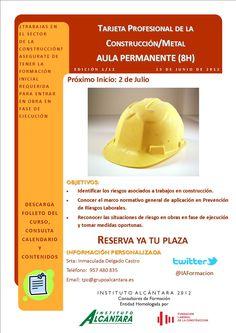 Consigue la formación inicial necesaria requerida para la obtención de la Tarjeta Profesional de la Construcción (TPC) y trabajar en obras de construcción en fase de ejecución