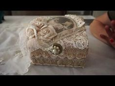 """""""Love Letters"""" Altered Box - YouTube"""