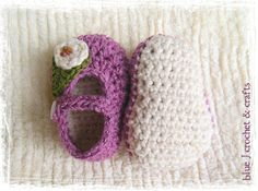 Crochet Pattern  Plain Janes Mary Jane Style by bluejcrochet, $3.50